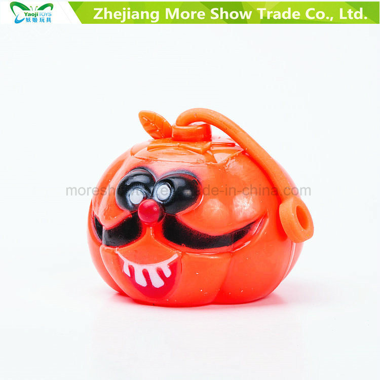 Flashing Sounding Light-up Spiky Puffer Ball Pumpkin Toys