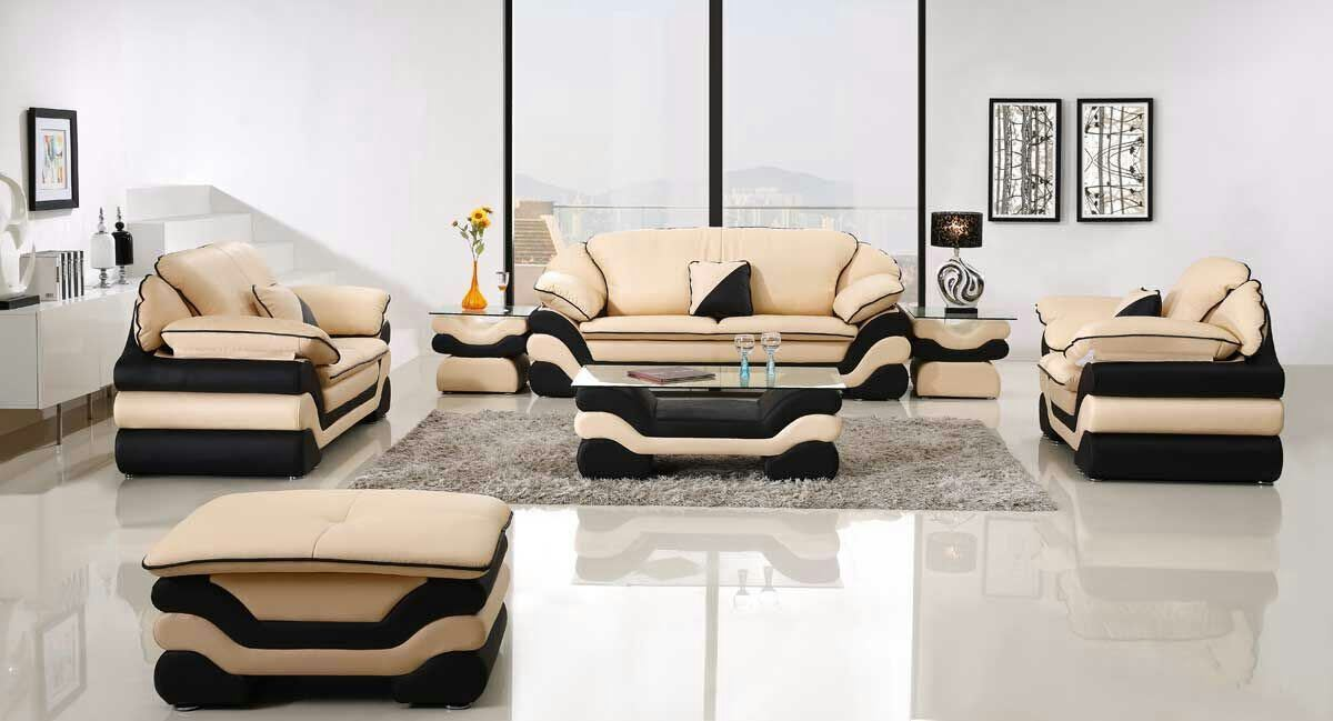 Modern Furniture Home Leather Sofa Set
