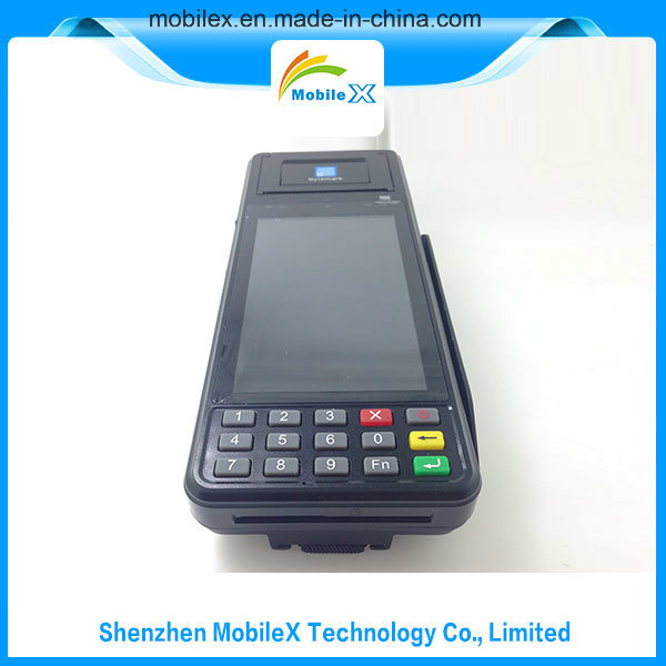 Handheld Wireless Payment Terminal, Android OS, Barcode Scanner, 4G