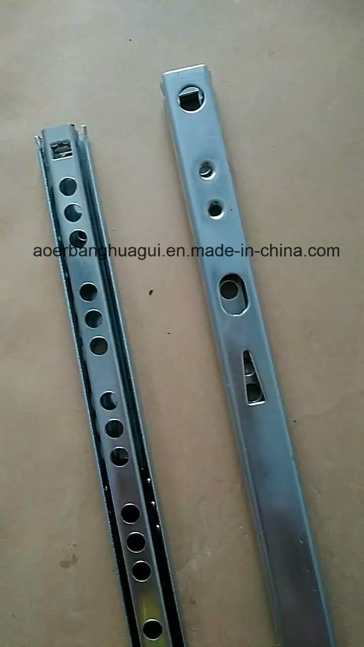 Aeb-17mm Double Type of Double Extension Ball Bearing Slide