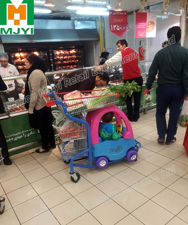 Baby Children Supermarket Retail Store Convenient Shopping Trolley