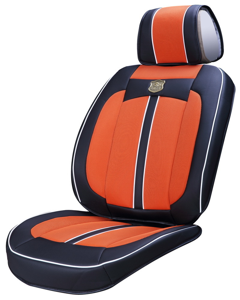 Car Seat Cushion 3D with Viscose Fabric Ice Silk