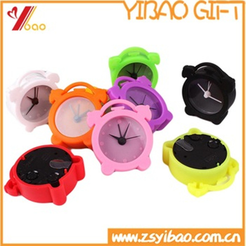 Custom Good Quality Colorful Silicone Clock