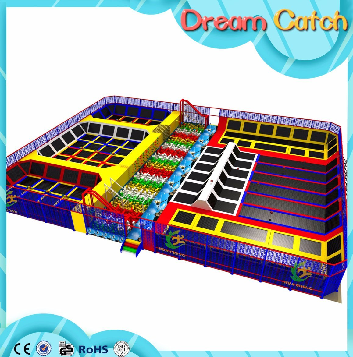 Factory Price for The Kids Soft Indoor Bungee Trampoline