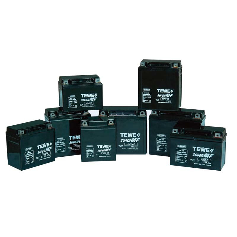 Tewe 12V 7ah Sealed Maintenance Free Motorcycle Battery
