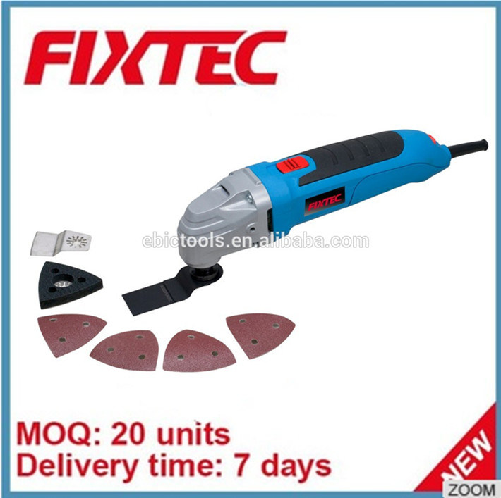 Fixtec Power Tool 300W Oscillating Multi Function Tool Saw Blades Machine