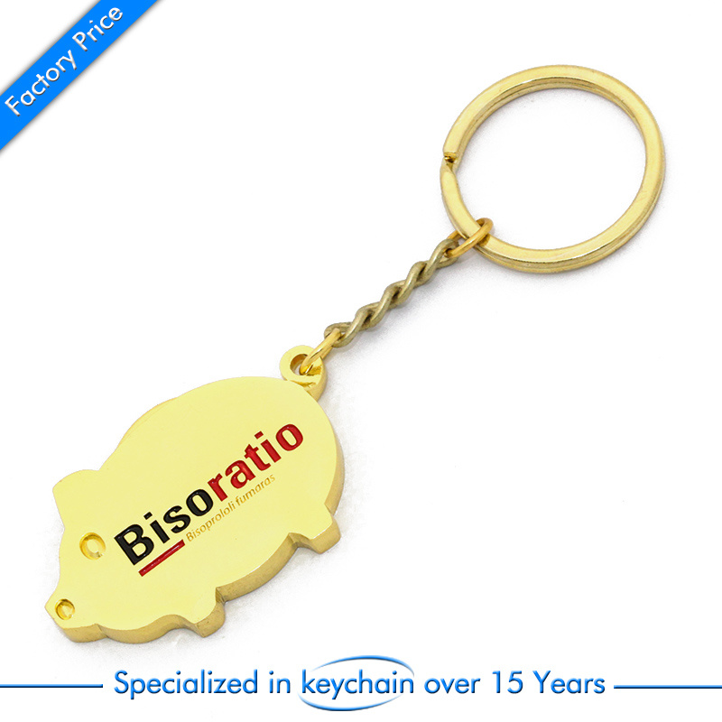 Wholesale Customized Metal Key Chain/Ring for Gift