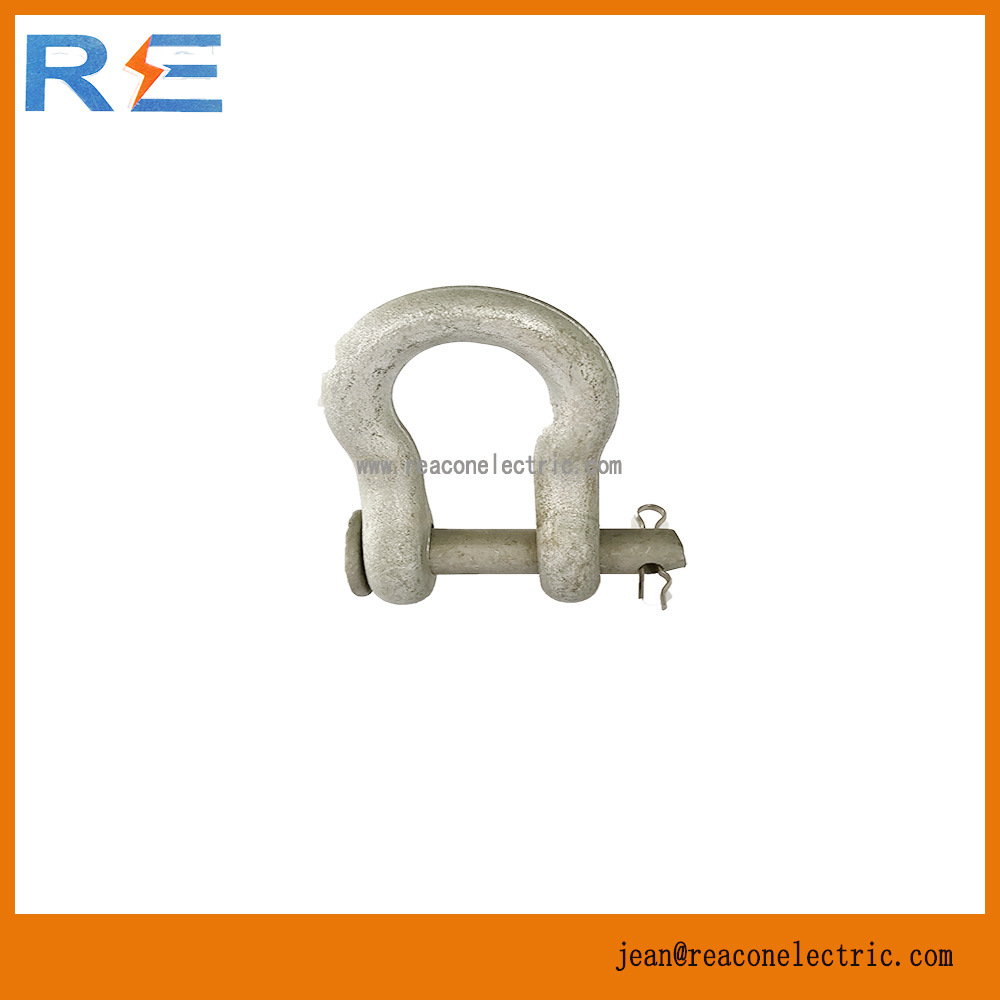 Galvanized Anchor Shackle for Pole Line Hardware