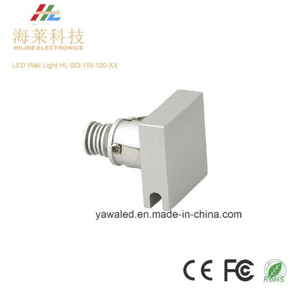 Square LED Wall Light 120 Degree DC12V or 350mA