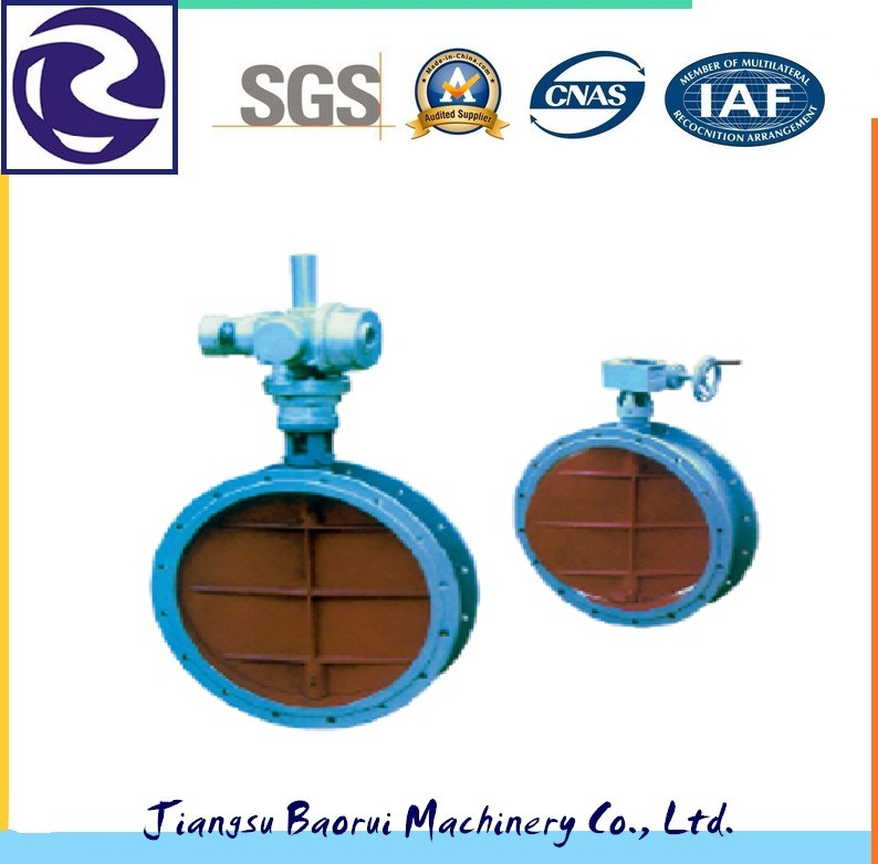 High Quality Baffle Door Used in Chemical Pipeline