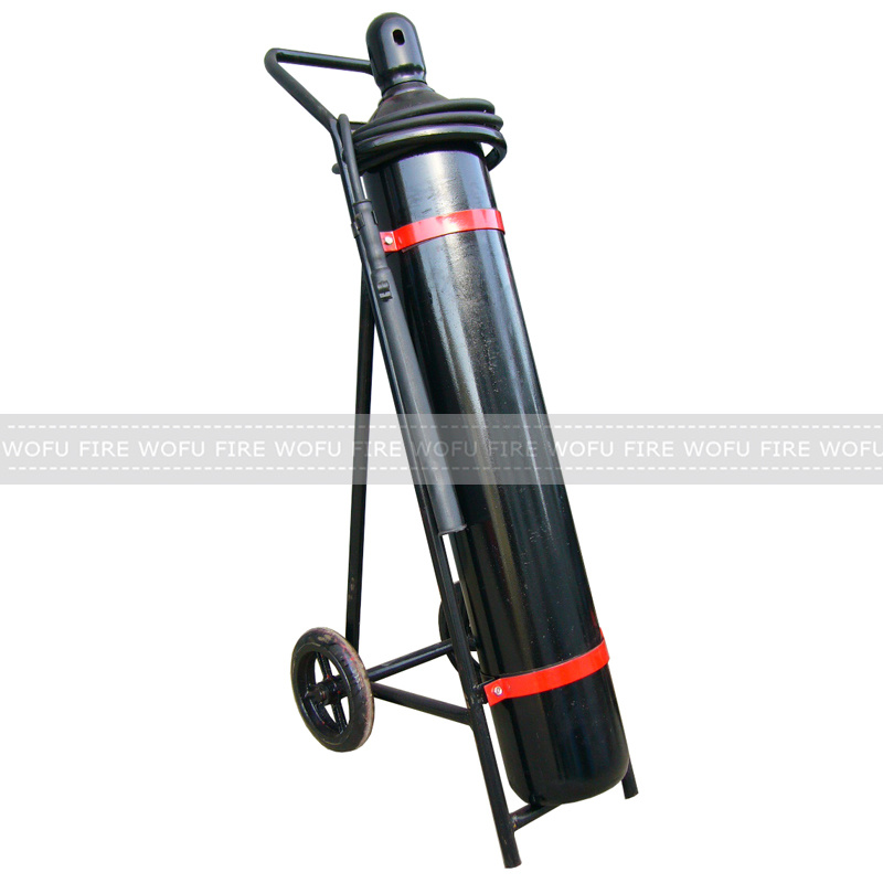 25kg CO2 Fire Extinguisher with Black Cylinder Hot in Sir Lanka