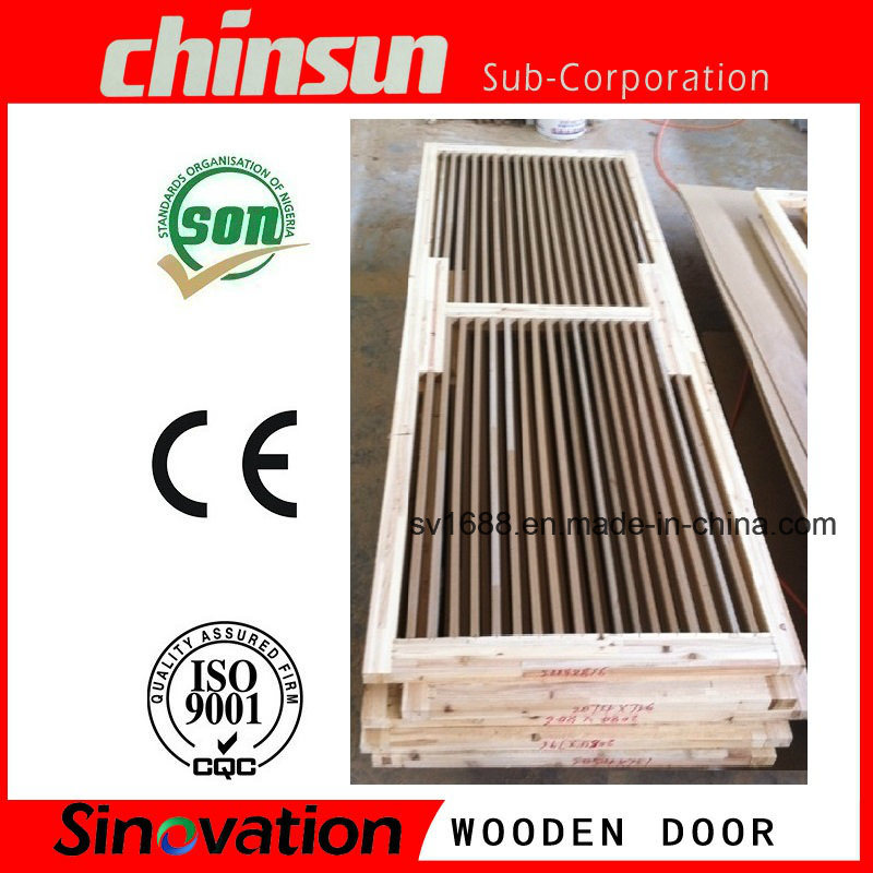 Interior Wooden Door with PVC MDF