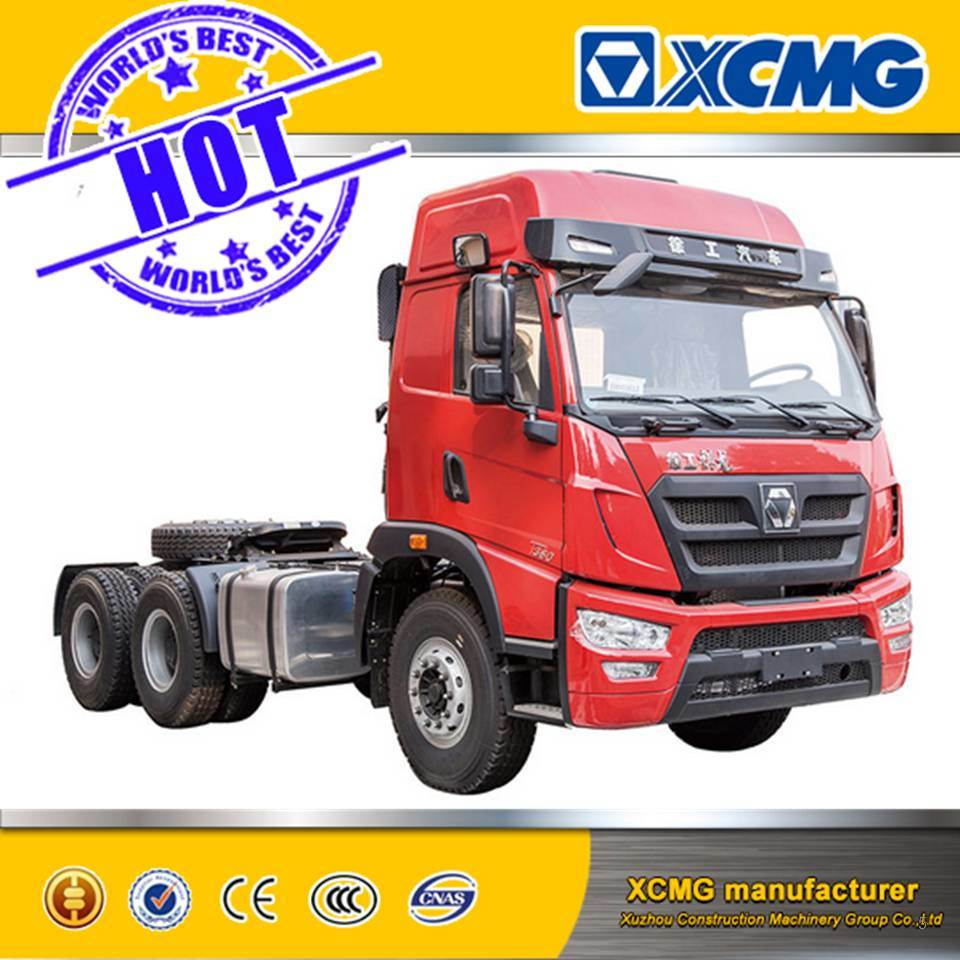 XCMG Mini Tractor Trailer Truck 6*4 Automatic Transmission Tractor Truck