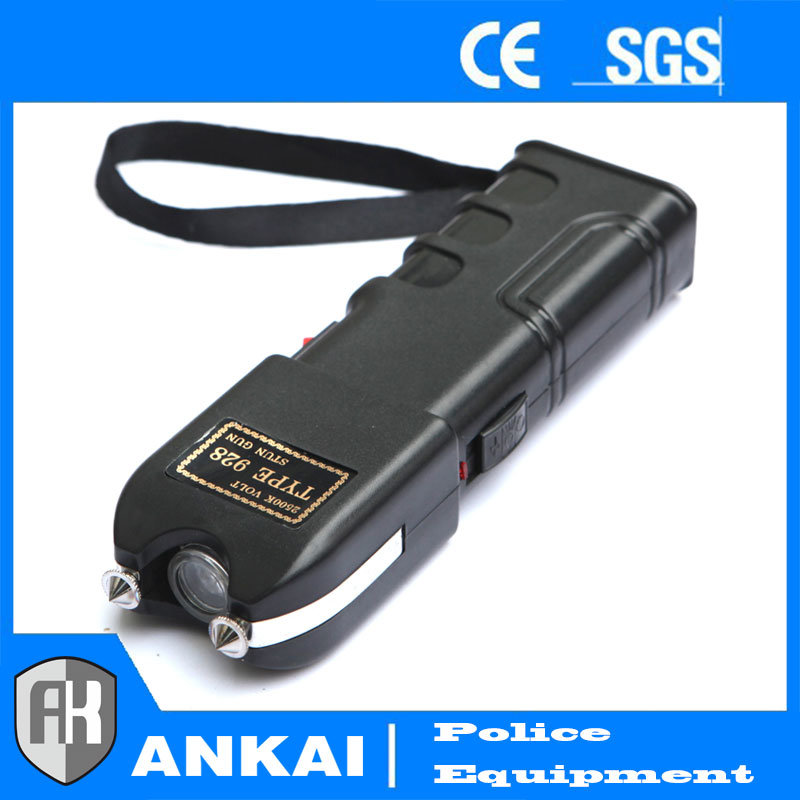Heavy Duty Stun Gun - Rechargeable with LED Flashlight