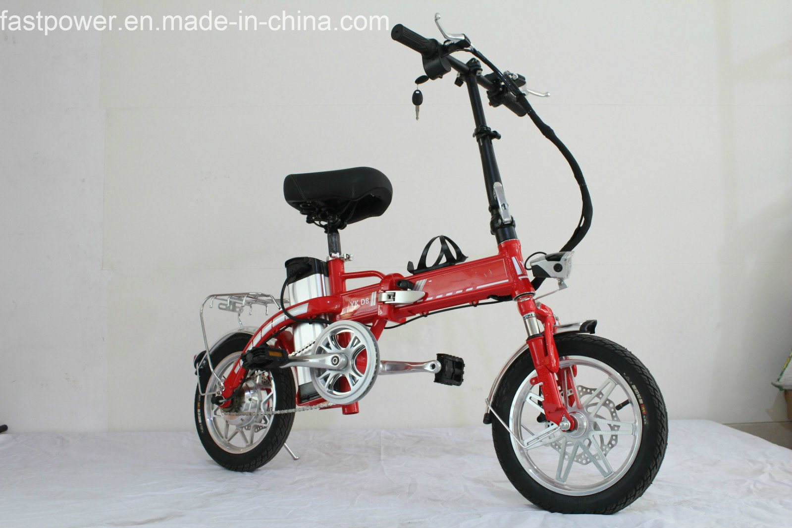 250W48V Brushless Motor Electric Scooter