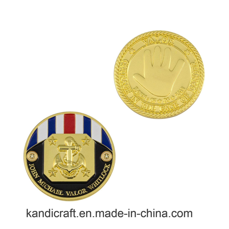 Promotion Characteristic Enamel Metal Souvenir Coin