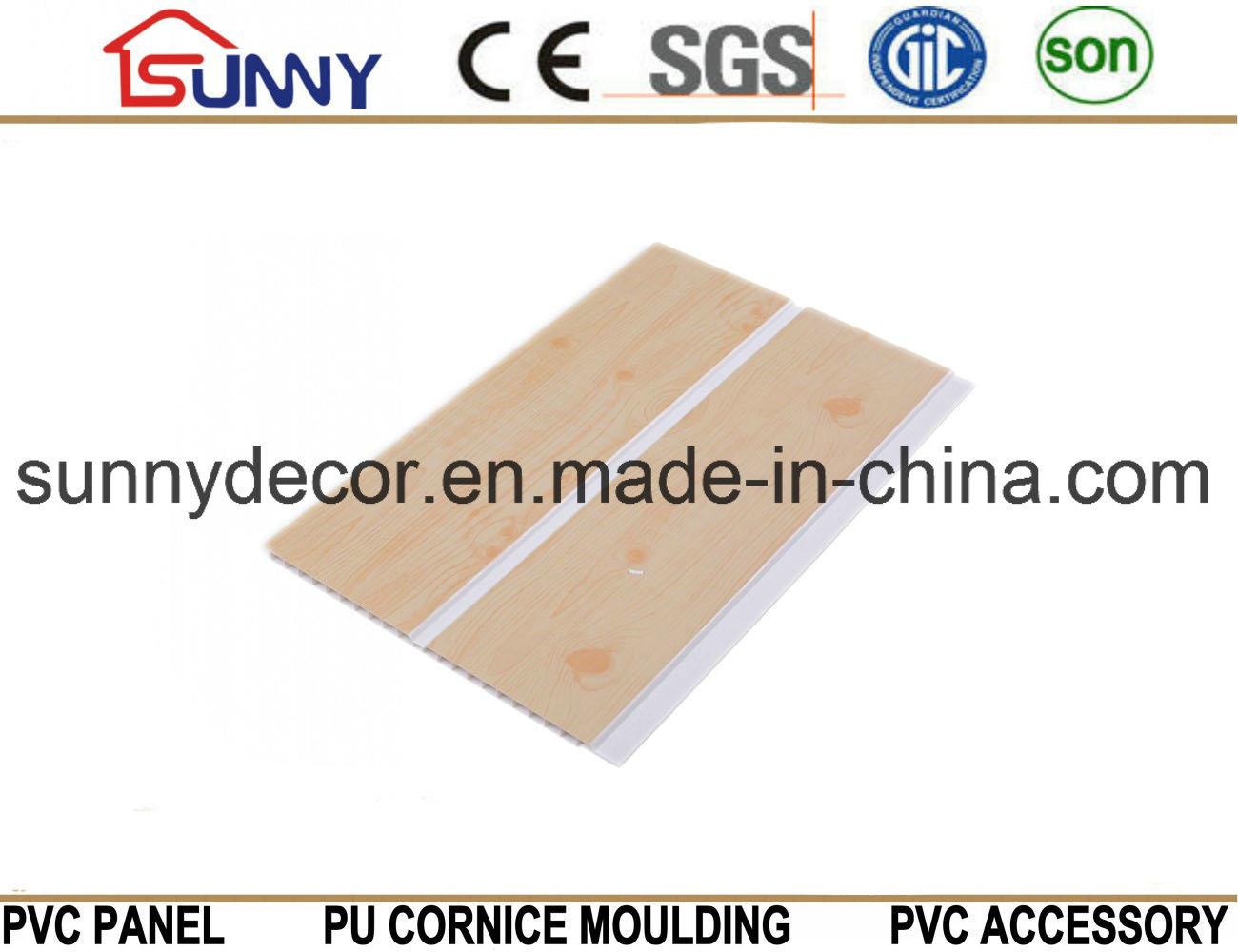 Wooden Design PVC Ceiling Panel PVC Wall Panel Plastic Panel Cielo Raso De PVC