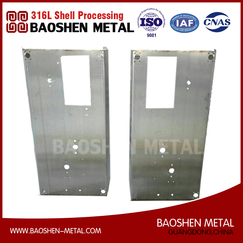OEM Processing Sheet Metal Fabrication Machined Components Processing Stainless Steel Body Customized China Supplier