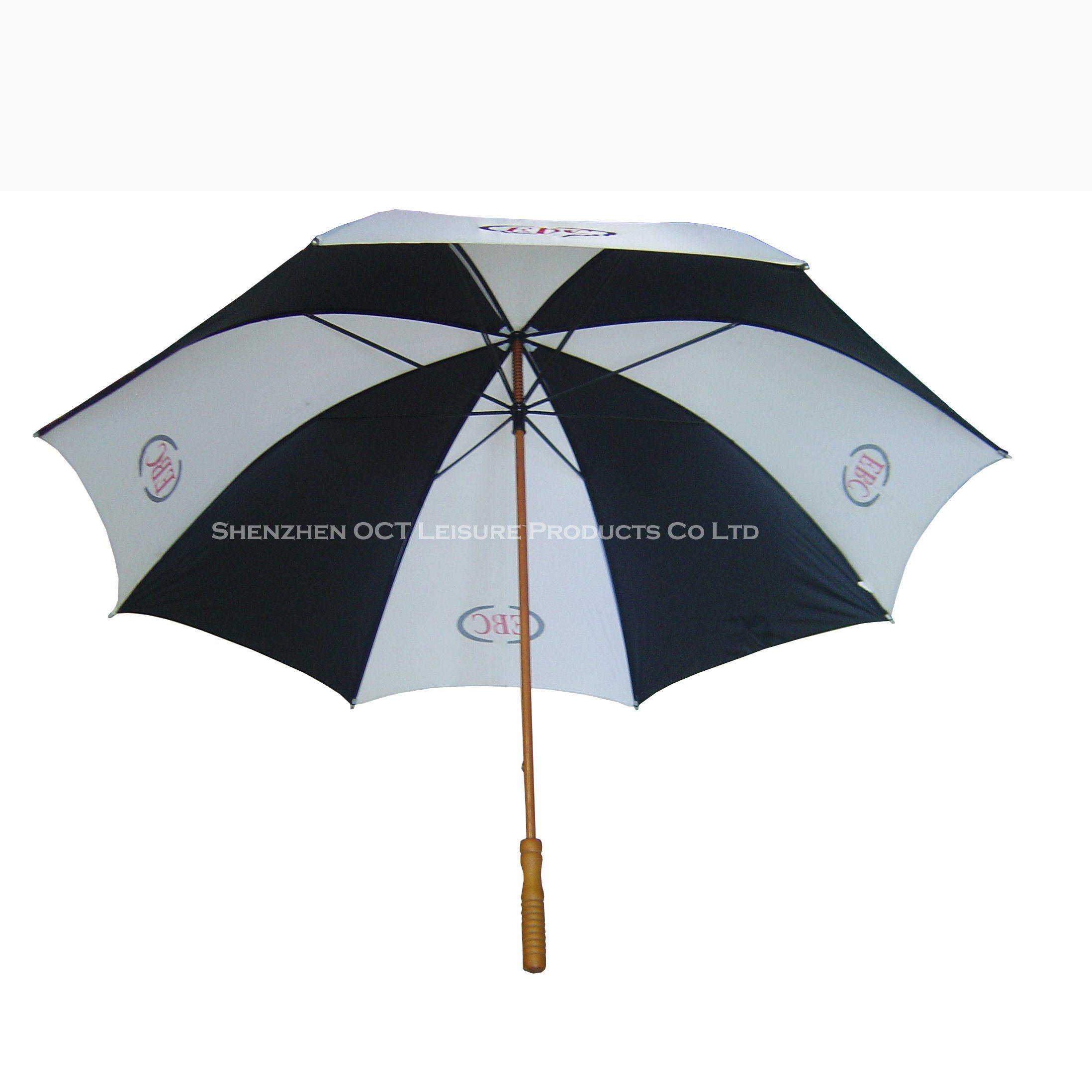 Popular Advertising Golf Umbrella with Good Quality (OCT-G23AD)