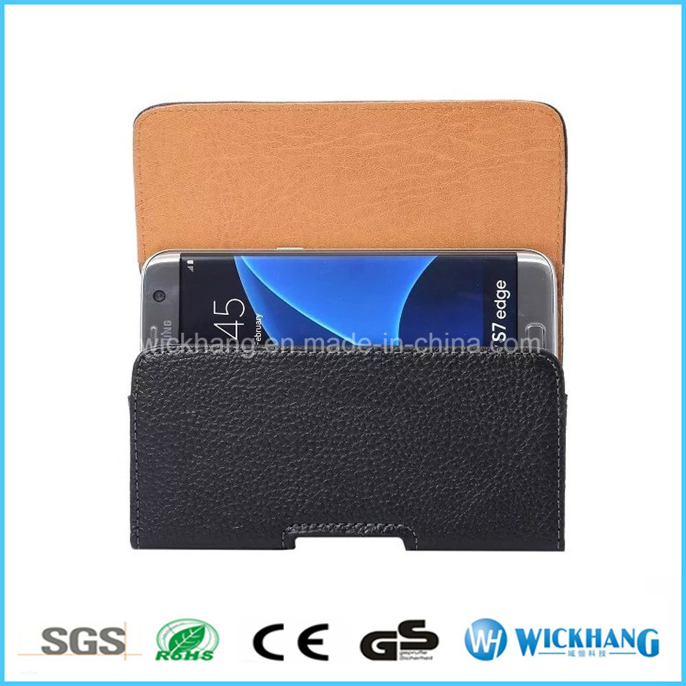 Horizontal Leather Belt Clip Universal Pouch Phone Case