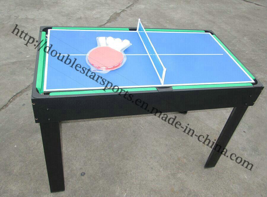 Wood Mini Soccer Table for Children Multi Games 9 in 1