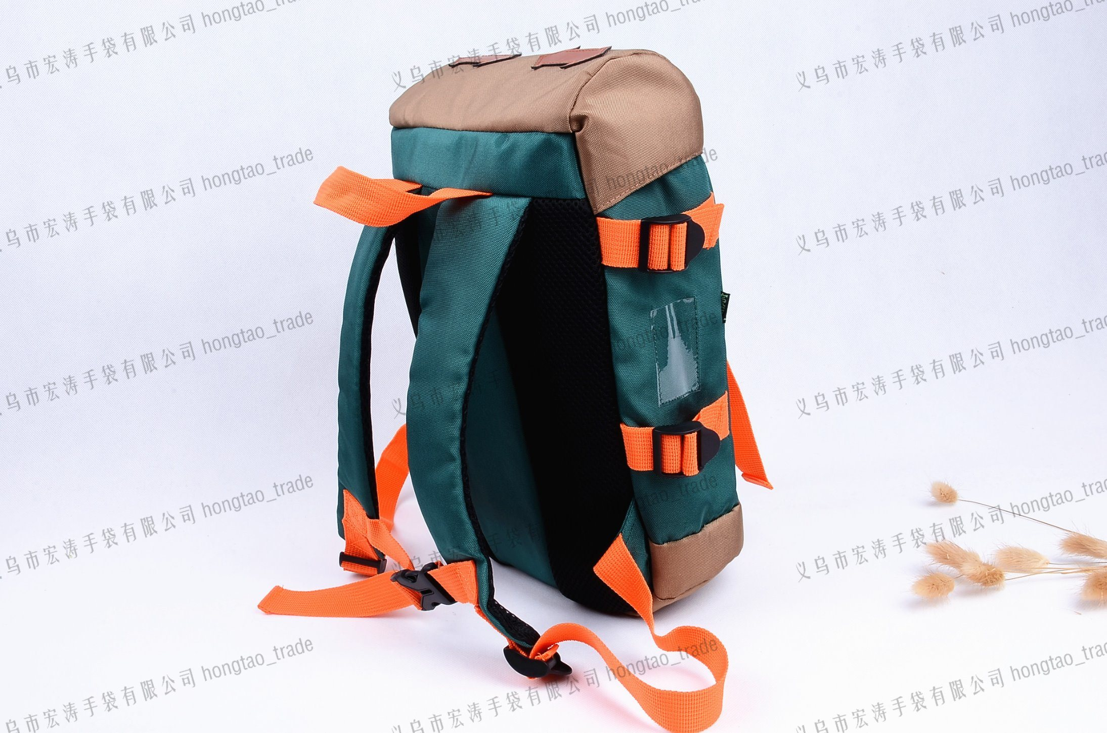 900d Nylon Waterproof Korean Style School Cover Bag Backpack