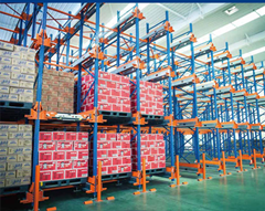 Shuttle Racking for Compact Storage in Cold Store