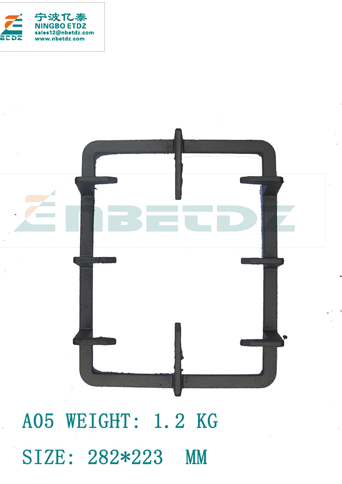 A01 Cast Iron Grate Gas Stove, Cast Iron Grill Grate, for Cast Iron Prices Per Kg
