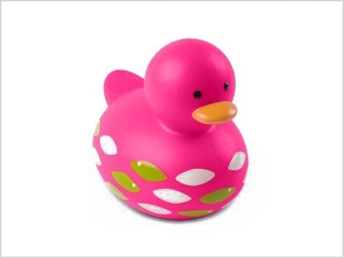 Vinyl Round Head Pink Duck