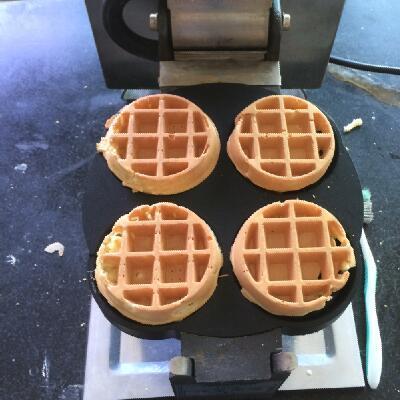 ETL Bakery Equipment Electric Baking Pan Belgian Waffle Iron