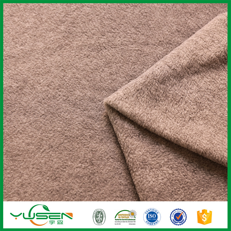 High Standard 100% Polyester Wholesale Fabric Fleece