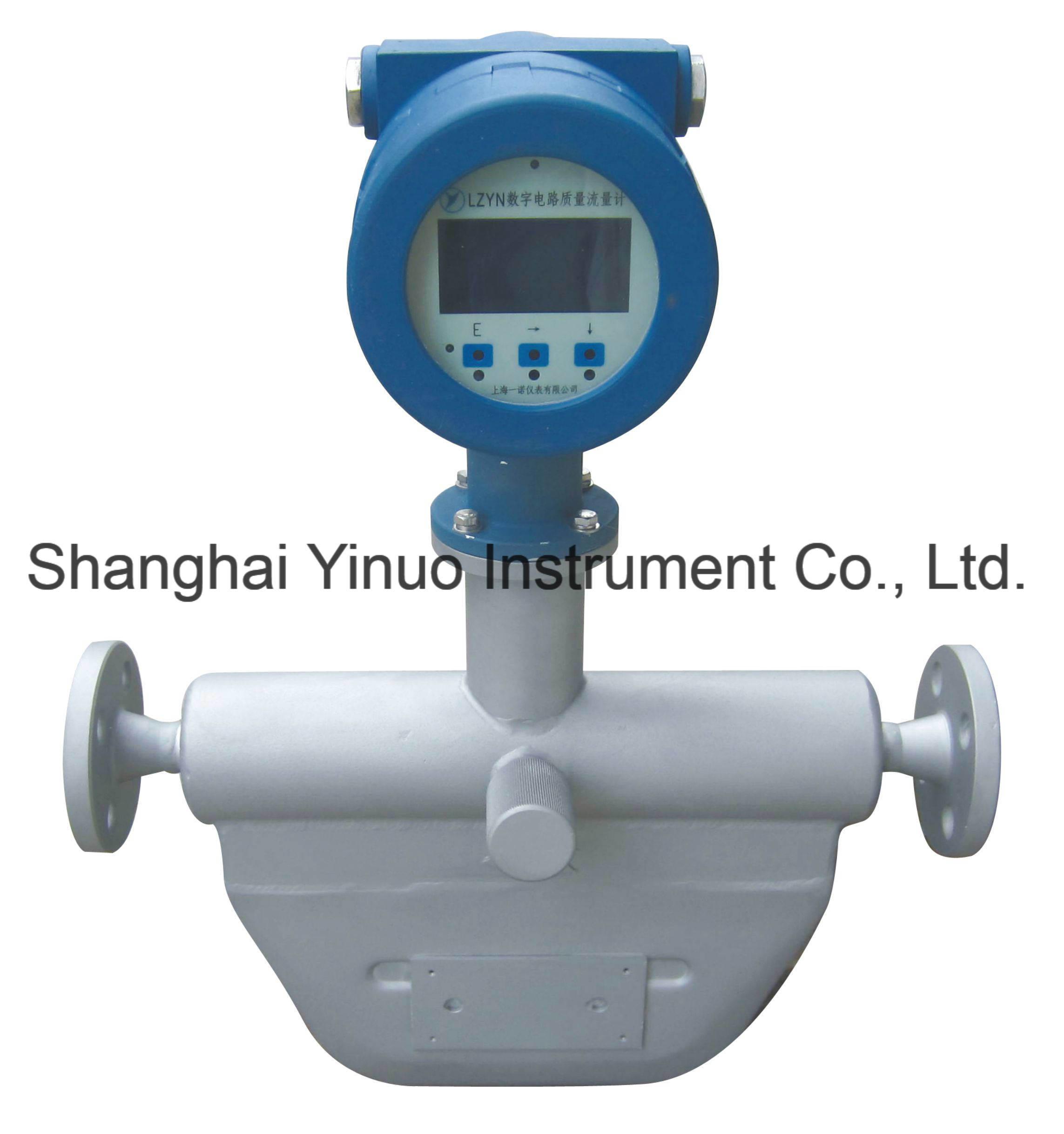 Coriolis Mass Flowmeter (LZYN) for Liquid & High Pressure Gas