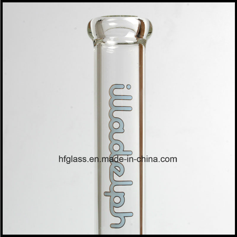 Hfy Glass 11.5 Inches Illadelph Best Quality Smoking Water Pipe Blue Inline Perc Round Base in Stock Wholesales Factory