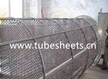 Suporting Plate Baffle Steel for Heat Exchange