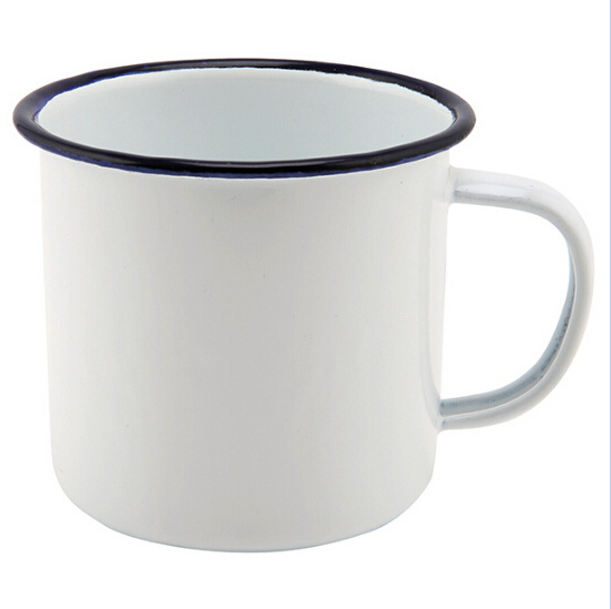 Personalized Making 8/9/10cm Enamel Tea Coffee Mug Cup