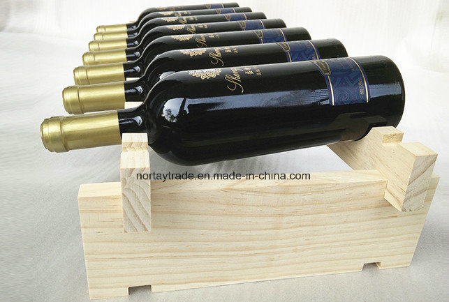 Fine Natural Pine Wood Stackable Wine Racks