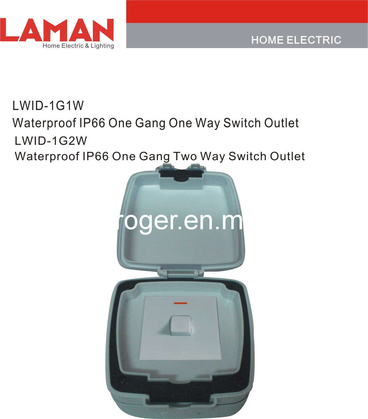 Lwipd Ip65 Waterproof Switch Outlet
