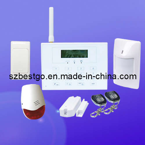 china diy wireless home gsm alarm system fire burglar