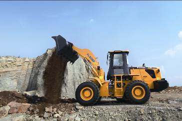 Wheel Loader Construction Loader