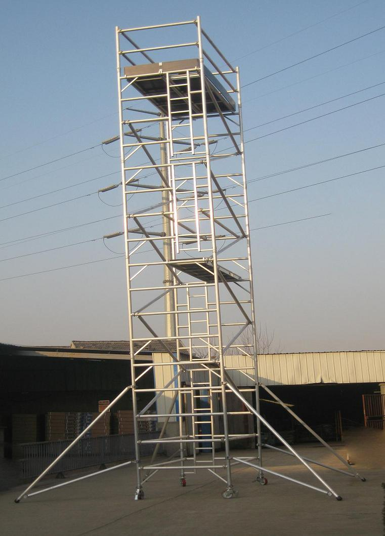 Aluminum Scaffold Tower : China aluminum mobile tower