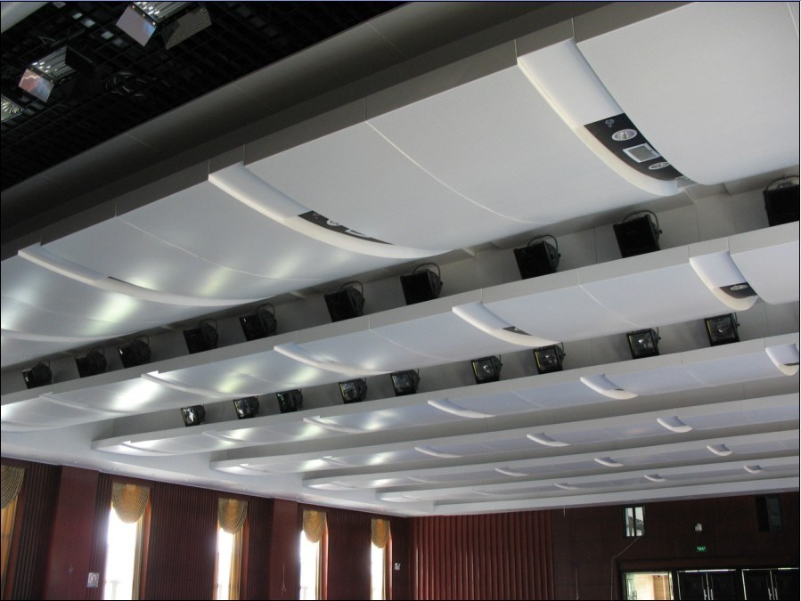 China Artistic False Curved Ceiling Design China False