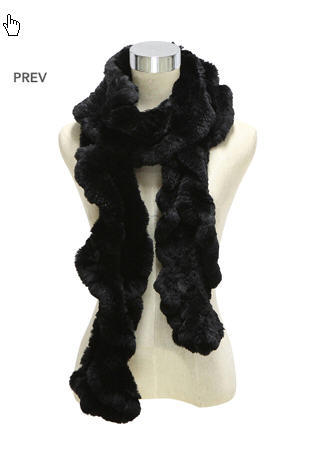 Winter Warm Fur Shawl (FB-90508)
