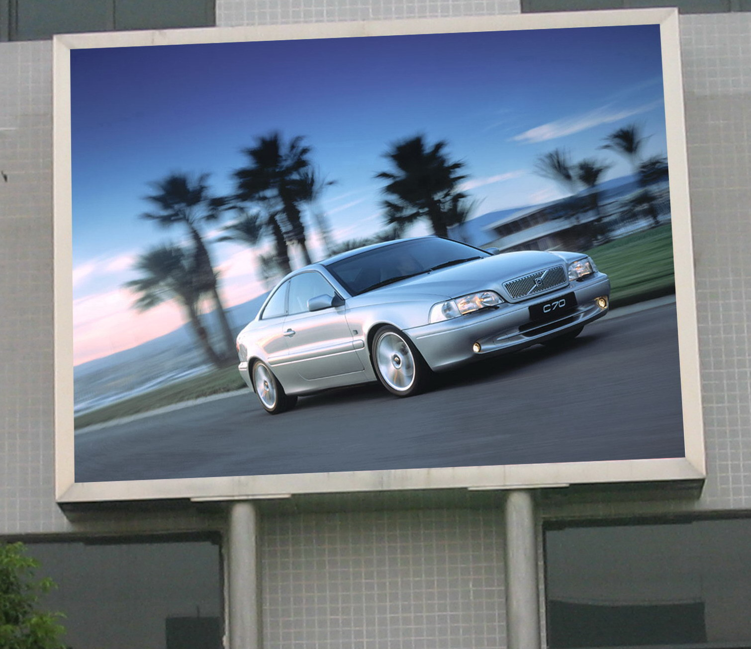 China outdoor led screen p16 photos pictures made in for Exterior led screen