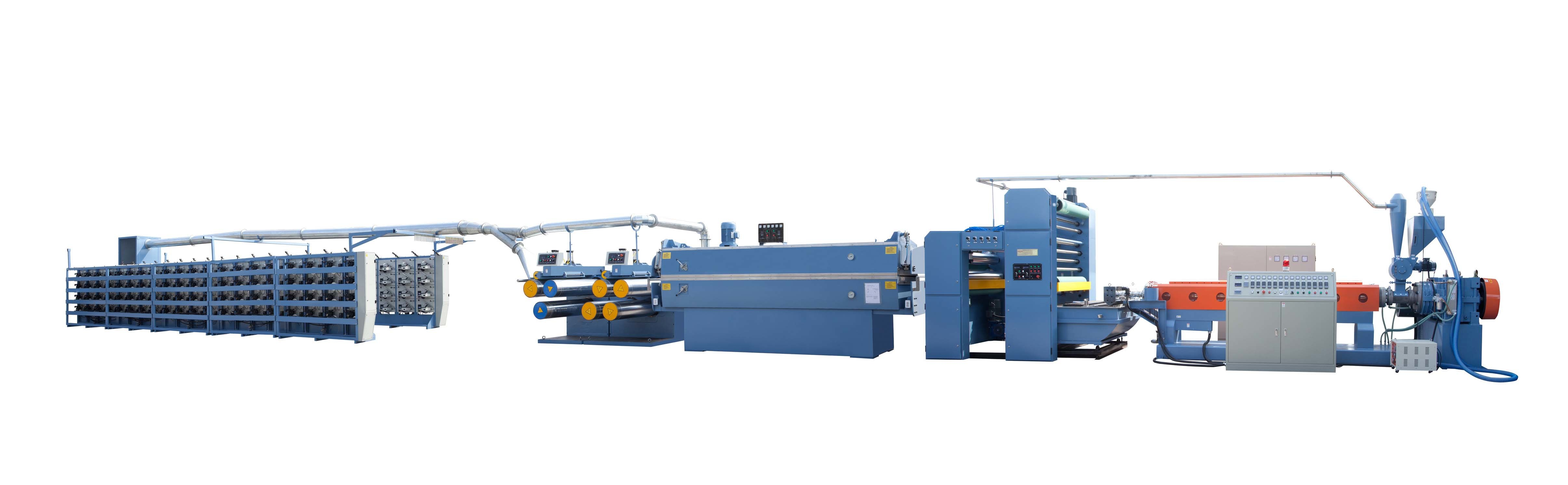 High-Speed PP/HDPE Flat Yarn Making Machine