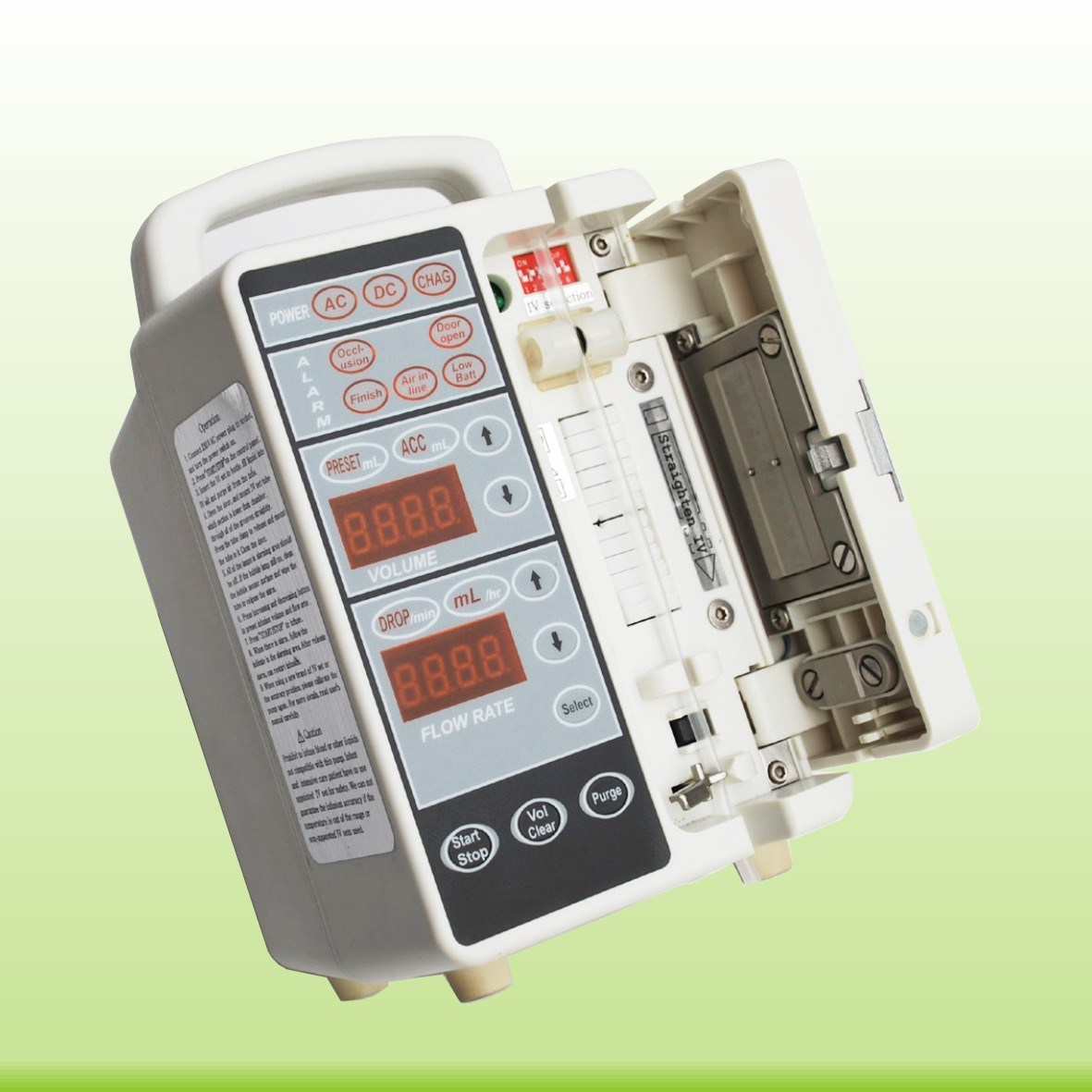 High Performance CE Marked Infusion Pump (SM-S01)