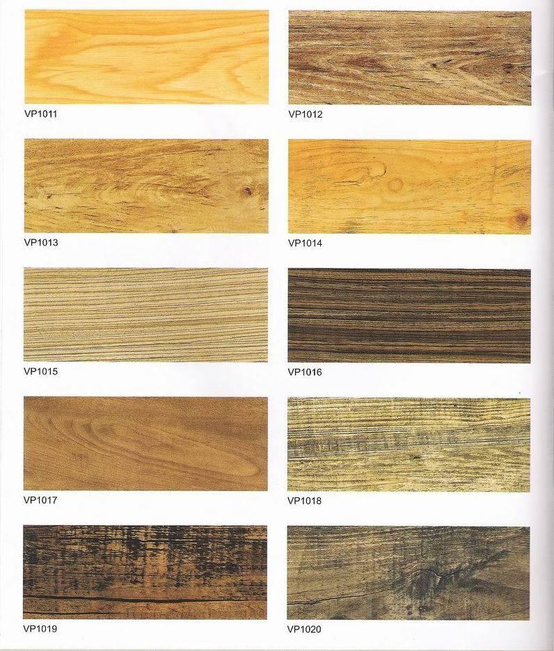 "PVC Plank Tiles 6""*36""*2.0mm"