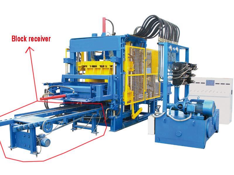 Cement Block Machines : China qt automatic cement brick making machinery