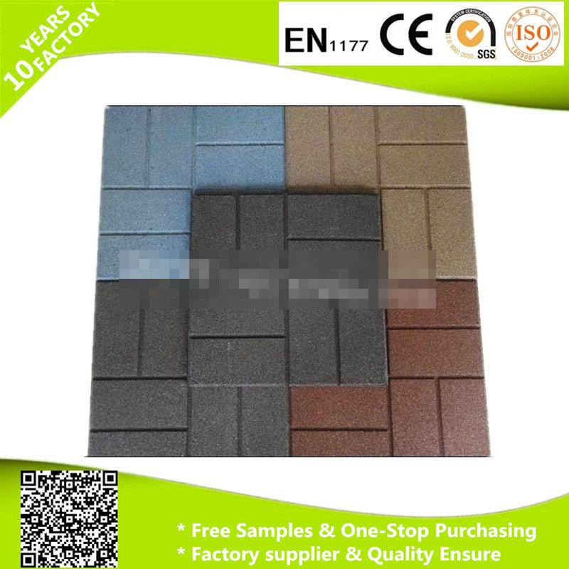 Muti-Use Rubber Mat with Loading Capacity and En1177 Certificate