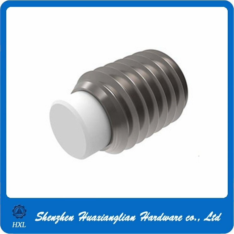 Stainless Steel Set Screws with Nylon Tips