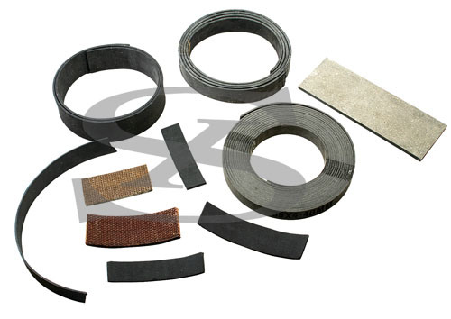 Brake Lining Roll (rubber moulded, woven resin)